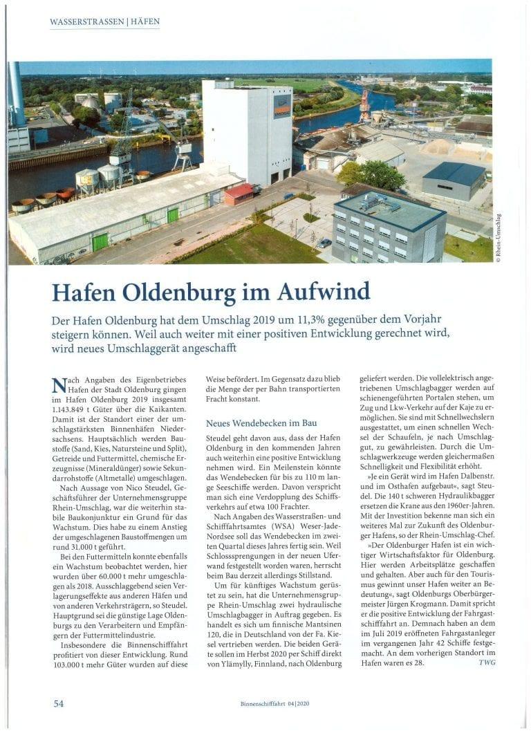 Hafen-Oldenburg-Fachzeitschrift